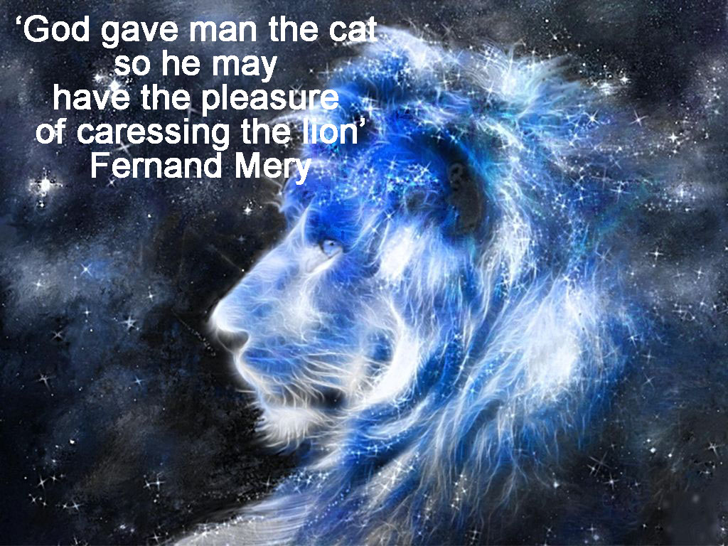 Blue Lion of the Star