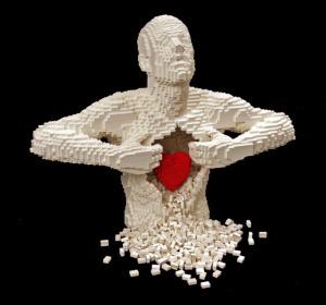 Nathan Sawaya's extraordinary lego sculpture