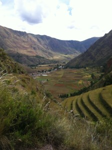 Its A Long Way Down To Pisac