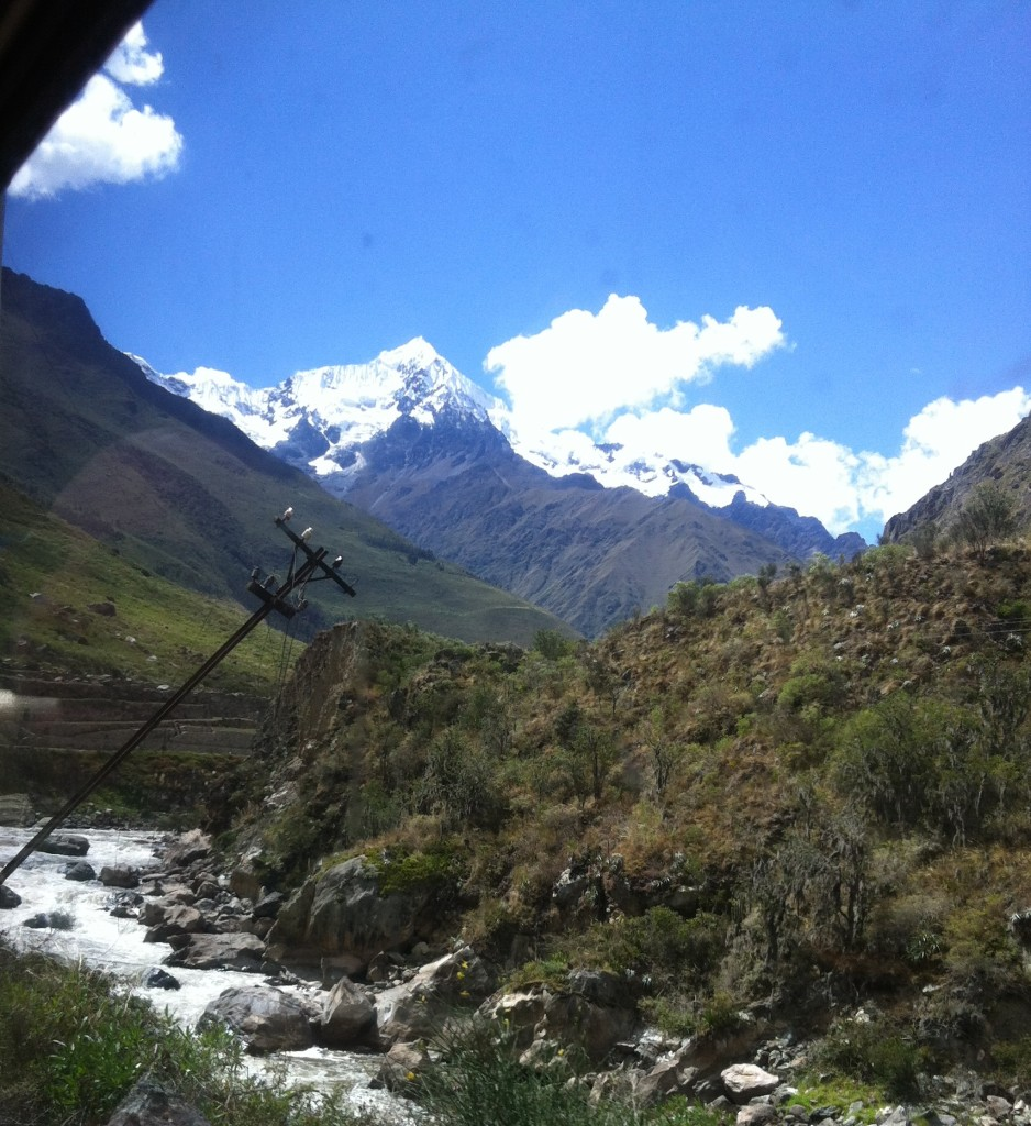 View From the Machu Picchu Train